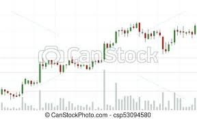 Candle Stick Chart Of Stock Exchange Market