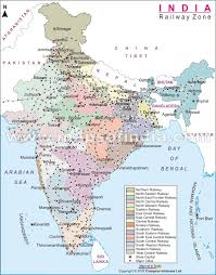 Indian Railway Route Chart 63 Thorough India Map Hd Pdf Download