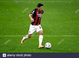 Milan, Italy - 21 September, 2020: Brahim Diaz of AC Milan in action during  the Serie A