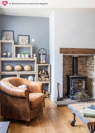 country cottage style living room