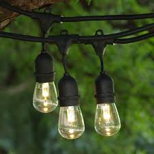 commercial grade outdoor led string lights medium base 24 commercial light with s14 professional bulbs