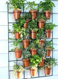 hanging plant holders interesting wall pots planters in comely pockets outdoor pot holder nz