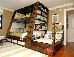 Bunk Bed Stairs With Drawers Bunk Bed With Stairs Ideas For Triple