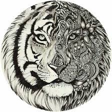 Small Picture Adult tiger coloring page colorings pages Pinterest Tigers
