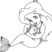 Small Picture Princess Ariel Mermaid Coloring Pages Bulk Color