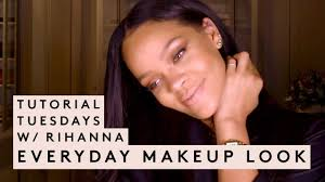 tutorial tuesday with rihanna everyday makeup look