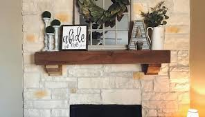 rustic decorating antique corner fireplace hearth stand wall tile style mantels surround white electric ideas farmhouse