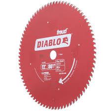 Soff Cut Blade Color Chart Diablo 12 In X 80 Teeth Finishing Saw Blade