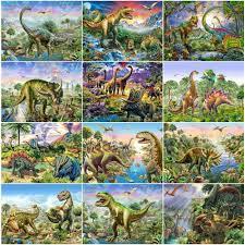 EverShine <b>Diamond</b> Painting <b>Dinosaur Full</b> Square <b>Diamond</b> ...