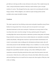 essay on sociology chinese traditional family ritual  4 girl