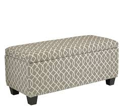 Long Bedroom Bench Amazoncom Cortesi Home Kiki Fabric Storage Long Bench Ottoman