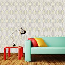 Yellow Wallpaper In Living Room ...