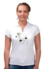 Рубашка Поло <b>ДЖЕК</b> РАССЕЛ.СОБАКА #2230053 за 1 585 руб. в ...