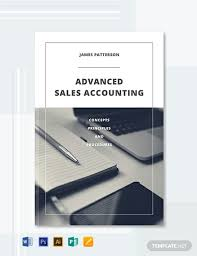Free Book Template For Word Free Accounting Book Cover Template Word Psd Indesign