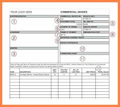 13 Export Commercial Invoice Format In Excel Corpus Beat