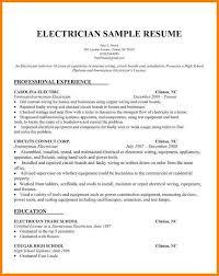 9 Electrician Sample Cv Dragon Fire Defense