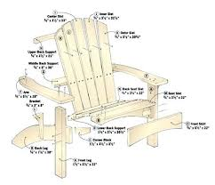 adirondack chair plans. Best Adirondack Chair Plans How To Build More Views About
