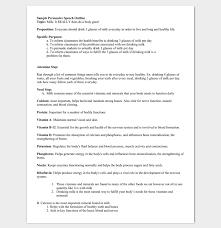 Speech Outline Format Persuasive Speech Outline Template 15 Examples Samples