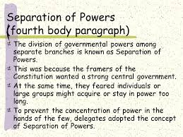 government final essay review ppt video online 6 separation of powers