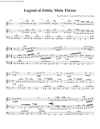 legend of zelda theme sheet music the legend of zelda is an amazing piece of music that i could listen