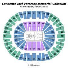 Lawrence Joel Veterans Memorial Coliseum Winston Salem