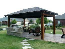 covered patio cost building a covered