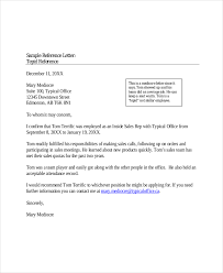Reference letter for career and placement