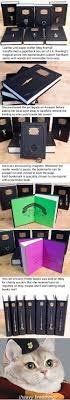 leatherbound harry potter book comes with horcrux bookmarks shut up and take