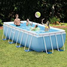 Intex Prism Frame Pools Intex Swimming Pools In The Swim