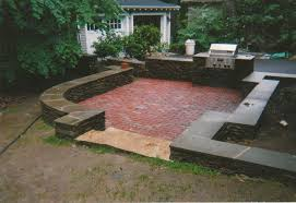 Small Picture Brick Patio Landscaping Ideas Outdoor Brick Fireplace Patio In