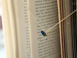 japanese handmade jewelry blue bird necklace designer luccica i
