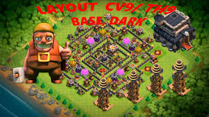 Layout Cv9 Th9 Base Dark Youtube