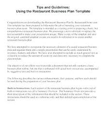 Basic Business Plan Outline Template