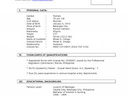 New Format For Resume Download New Resume Format Sample DiplomaticRegatta 10