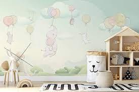 Murwall Kids Wallpaper Little Elephant ...
