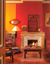 Mango Living Room Furniture Eclectic Style Living Room In A Paris Apartment With Mango Yellow