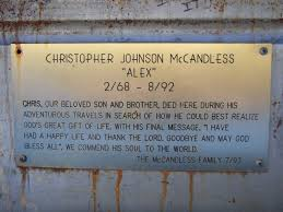 Chris Mccandless Diary A Plot Overview Of The Story How Chris Mccandless Died Term Paper