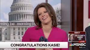 Kasie Hunt Announces Pregnancy on ...