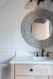 shaw floors white subway tile hexagon tile rose doors 6 of 12