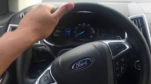 interior lights operation ford edge 2016