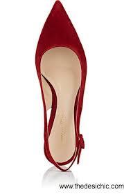 size 13 women gianvito rossi granata dark red anna suede slingback pumps women