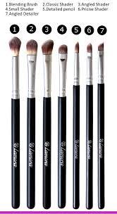make up eye brush set eyeshadow eyeliner blending crease kit best choice 7 piece essentials pencil shader tapered definer vegan synthetic