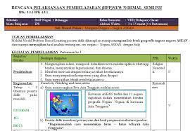 4.2 menyajikan hasil analisis tentang perubahan kehidupan sosial budaya bangsa indonesia dalam menghadapi arus globalisasi untuk memperkokoh kehidupan kebangsaan. Rpp Ips New Normal Kelas 7 8 Dan 9 Semester Ganjil Edukasi Ips