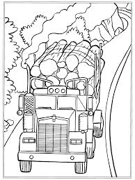 Kleurplaten Paradijs Kleurplaat Vrachtwagen