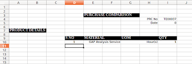 Plm Vendor Comparison Chart Purchase Comparison Chart Odoo Apps