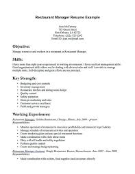 resume for restaurants restaurants resume restaurants manager resume nice restaurant