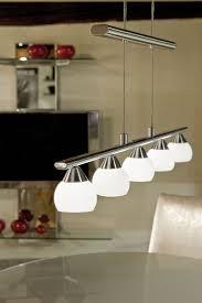 Linear Dining Room Lighting Lighting Ideas 5 Lights Linear Polished Chrome Pendant Lamp For