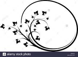 oval frame design. Elegant Oval Floral Vector Frame For Your Design Or Text.