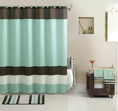 brown and green bathroom accessories. Green And Blue Bathroom Accessories Accessory Set W Towels Shower Curtain Rug More Bath Decor . Brown A