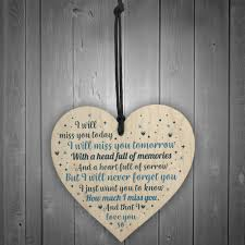 details about mum dad nan grandad friend heart memorial plaque bereavement gift in memory sign